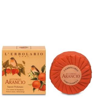 L'Erbolario Accordo Arancio Sapone Kvapusis muilas, 100g | inbeauty.lt