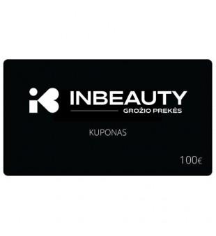 Dovanų kuponas 100 | inbeauty.lt