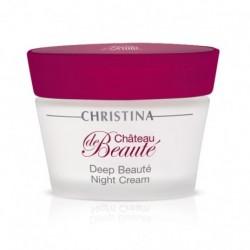 Chateau de Beaute Deep Beauty Night Cream Atstatomasis naktinis kremas, 50ml