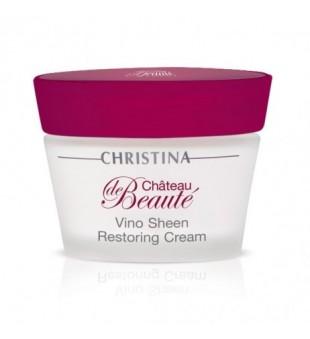 Christina Chateau de Beaute Vino Sheen Restoring Cream Atstatomasis kremas, 50ml | inbeauty.lt