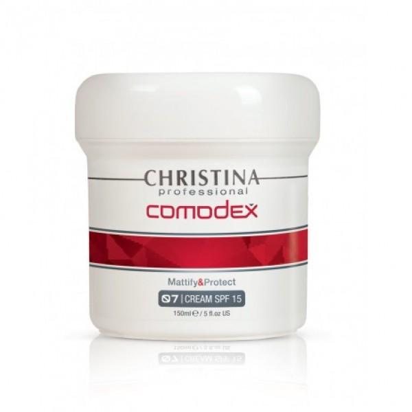 Comodex Mattify & Protect Cream Apsauginis kremas SPF 15, 75ml