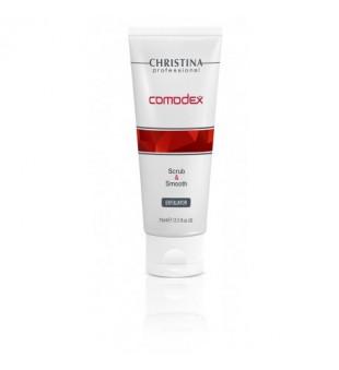Christina Comodex Scrub & Smooth Exfoliator Veido šveitiklis, 75ml | inbeauty.lt