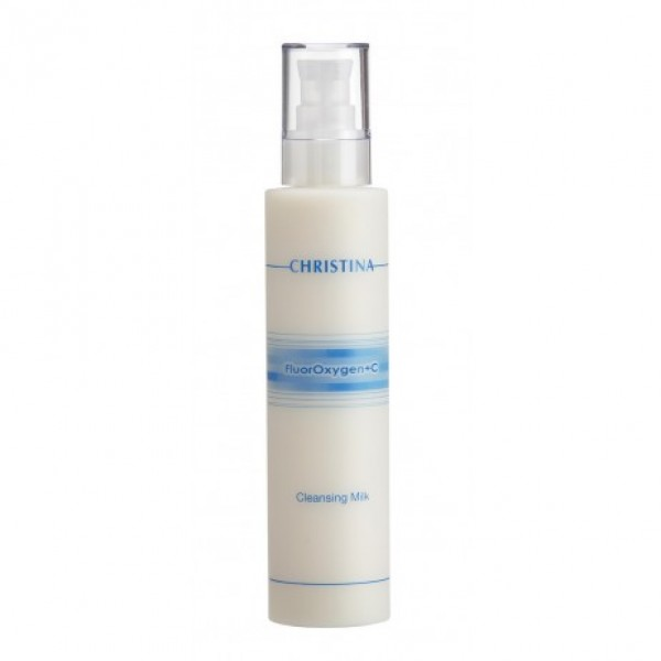 FluorOxygen+C Cleansing Milk Valomasis pienelis, 300ml