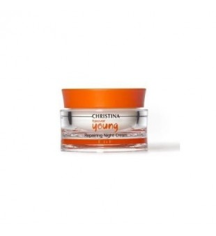 Christina Forever Young Repairing Night Cream Atstatomasis, naktinis kremas, 50 ml | inbeauty.lt