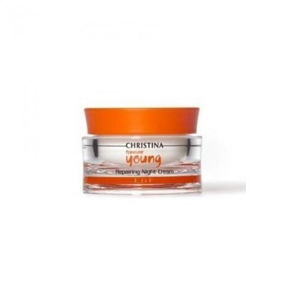 Forever Young Repairing Night Cream Atstatomasis, naktinis kremas, 50 ml