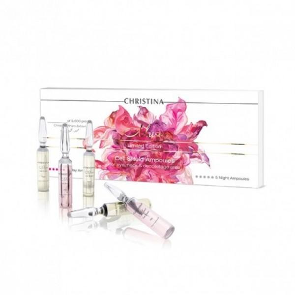 Muse Cell Shield Ampoules Ampulės atkuriančios apsaugines odos funkcijas, 10x2ml