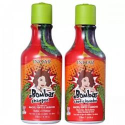 Bombar Duo Kit - Šampūnas ir kondicionierius su biotinu ir kokosų aliejumi 2x250ml