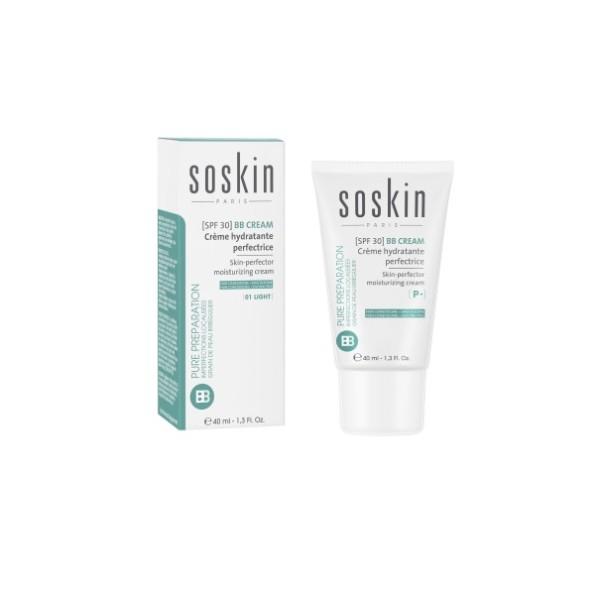 BB cream Skin-perfector moisturizing cream 01 Light Drėkinamasis kremas, 40 ml