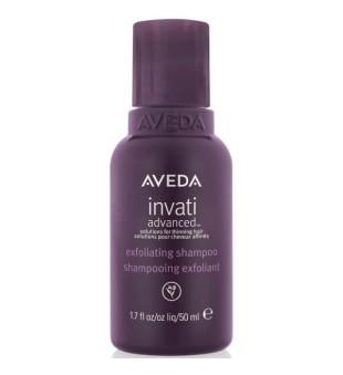 Aveda Invati Advanced Exfoliating Shampoo Valomasis šampūnas slenkantiems plaukams, 50 ml | inbeauty.lt