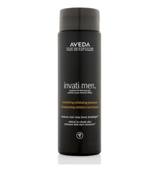 Aveda Invati Men Nourishing Exfoliating Shampo Maitinantis valomasis šampūnas vyrams, 250 ml   inbeauty.lt