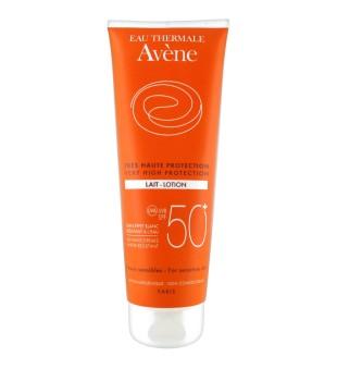 Avène Very High Protection Lait-lotion Apsauginis losjonas nuo saulės su SPF 50, 100 ml | inbeauty.lt