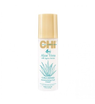CHI Aloe Vera Moisturizing Curl Cream Drėkinantis kremas garbanoms, 147ml | inbeauty.lt