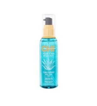 CHI Aloe Vera Oil Garbanotų plaukų aliejus, 89ml | inbeauty.lt