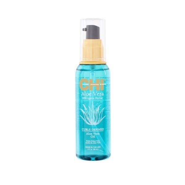 Aloe Vera Oil Garbanotų plaukų aliejus, 89ml