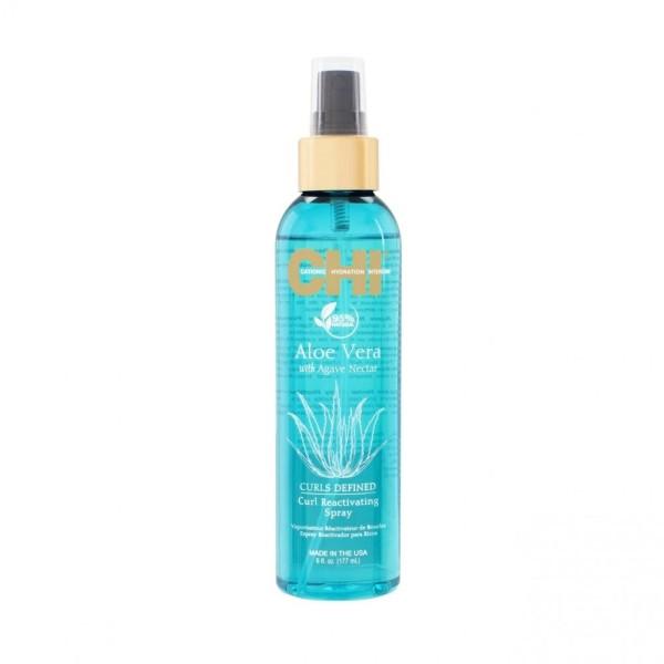 Aloe Vera Curl Reactivating Spray Garbanas išryškinantis purškiklis, 177ml
