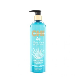 CHI Aloe Vera Curl Enhancing Shampoo Garbanas išryškinantis šampūnas, 739ml | inbeauty.lt