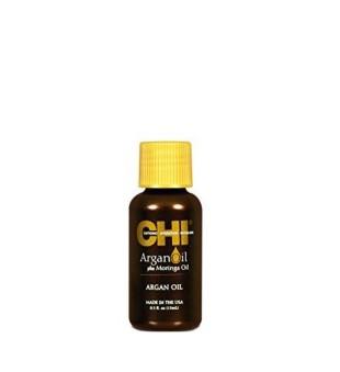 CHI Argan Oil Argano ir moringų aliejų priemonė plaukams, 15ml | inbeauty.lt