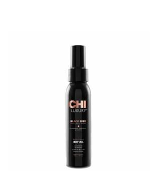 CHI Black Seed Oil Black Seed Dry Oil Juodųjų kmynų aliejus plaukams, 89ml | inbeauty.lt