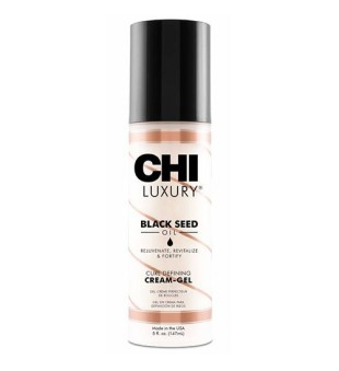 CHI Black Seed Oil Curl Defining Cream-Gel Lengvas kremas-gelis garbanotiems plaukams, 147ml | inbeauty.lt