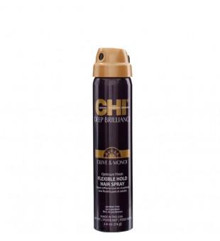 CHI Deep Brilliance Flexible Hold Hair Spray Lanksčios fiksacijos plaukų lakas, 74g | inbeauty.lt