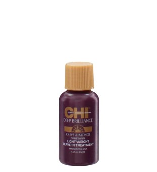 CHI Deep Brilliance Light Weight Leave-In Treatment Nenuskalaujamas plaukų serumas, 15ml | inbeauty.lt