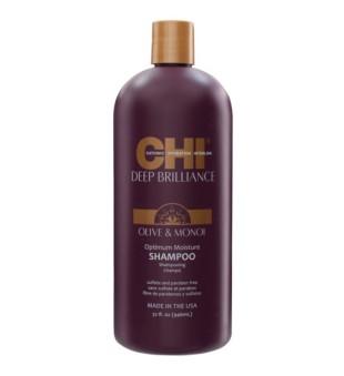CHI Deep Brilliance Optimum Moisture Shampoo Drėkinamasis šampūnas, 946ml | inbeauty.lt