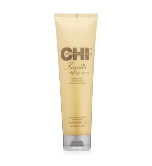 CHI Keratin Styling Cream Lanksčios fiksacijos plaukų formavimo kremas, 133ml | inbeauty.lt