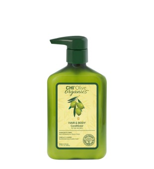 CHI Olive Organics Hair & Body Conditioner Plaukų ir kūno kondicionierius, 340ml | inbeauty.lt