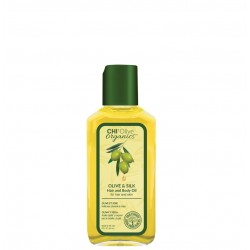Olive Organics Olive & Silk Hair And Body Oil Aliejus plaukams ir kūnui, 59ml