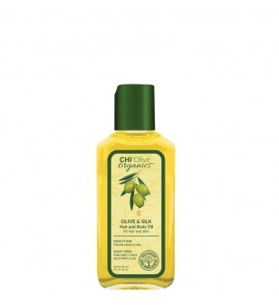 CHI Olive Organics Olive & Silk Hair And Body Oil Aliejus plaukams ir kūnui, 59ml | inbeauty.lt