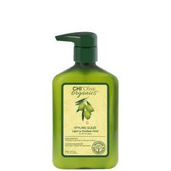 Olive Organics Styling Glaze Plaukų modeliavimo glazūra, 340ml