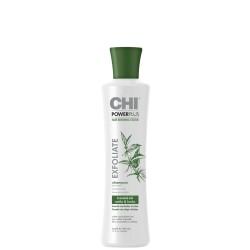 Power Plus Exfoliate Shampoo Šampūnas nuo plaukų slinkimo, 355ml