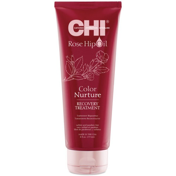 Rose Hip Oil Color Nurture Recovery Treatment Atkuriamoji kaukė dažytiems plaukams, 237ml