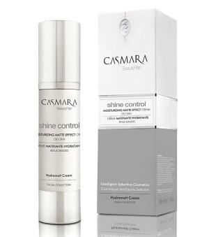 Casmara Shine Control Moisturizing Matte Effect Cream Drėkinamasis veido kremas riebiai odai, 50 ml | inbeauty.lt