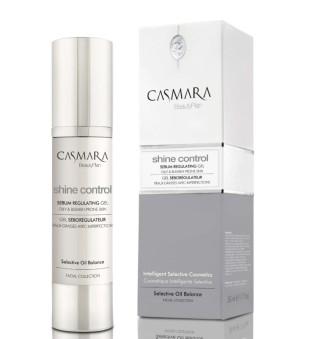 Casmara Shine Control Sebum Regulating Gel Odos riebalų išsiskyrimą reguliuojantis gelis, 50 ml | inbeauty.lt