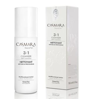 Casmara Cleanser 3 in 1 Deep Cleansing  Prausiklis veido odai 3in1, 150 ml | inbeauty.lt