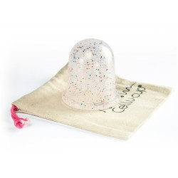 Anticeliulitinė taurelė - Glitter, 1 vnt.