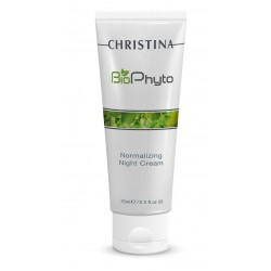 Bio Phyto Normalizing Night Cream Atkuriamasis naktinis kremas, 75 ml