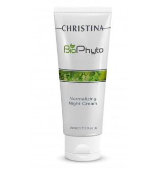 Christina Bio Phyto Normalizing Night Cream Atkuriamasis naktinis kremas, 75 ml | inbeauty.lt