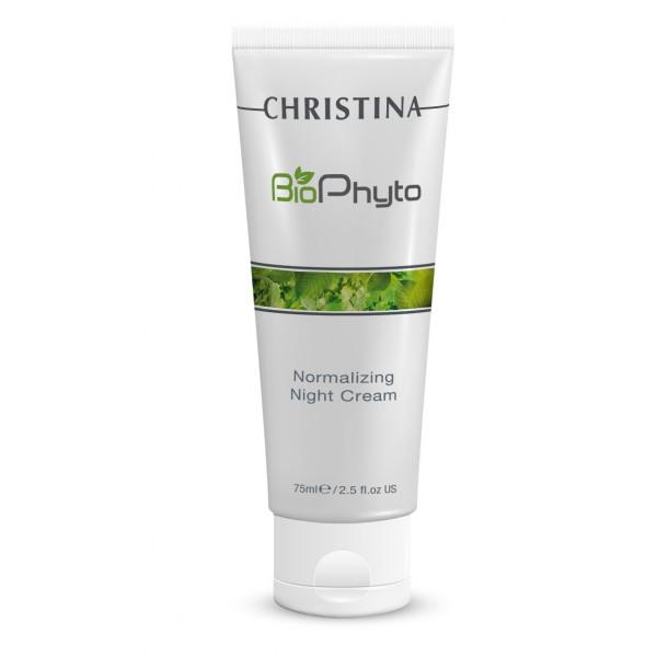 Bio Phyto Normalizing Night Cream Atkuriamasis naktinis kremas, 75 ml