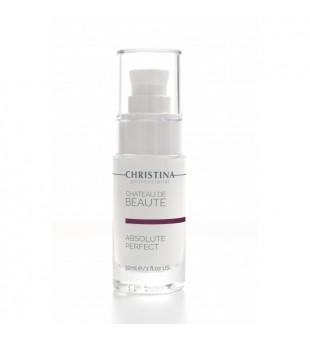 Christina Chateau de Beaute Absolute Perfect Serum Serumas nuo raukšlių, 30ml   inbeauty.lt