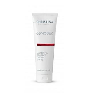 Christina Comodex Mattify & Protect Cream Apsauginis kremas SPF 15, 75ml | inbeauty.lt