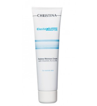 Christina Azulene Moisture Cream Drėkinantis azuleno kremas su vitaminais, 60 ml | inbeauty.lt