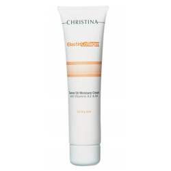 Elastin Collagen Carrot Oil Moisture Cream with Vit. A, E & HA Drėkinantis kremas su morkų aliejumi ir vitaminais, 60 ml