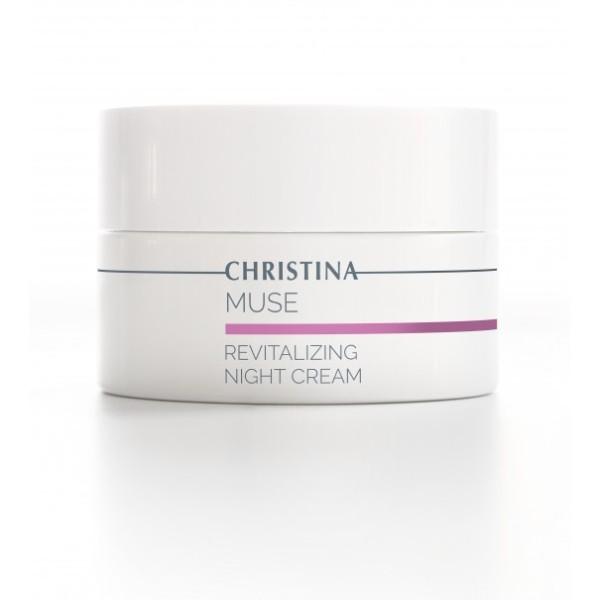 Muse Revitalizing Night Cream Atkuriamasis naktinis kremas, 50 ml