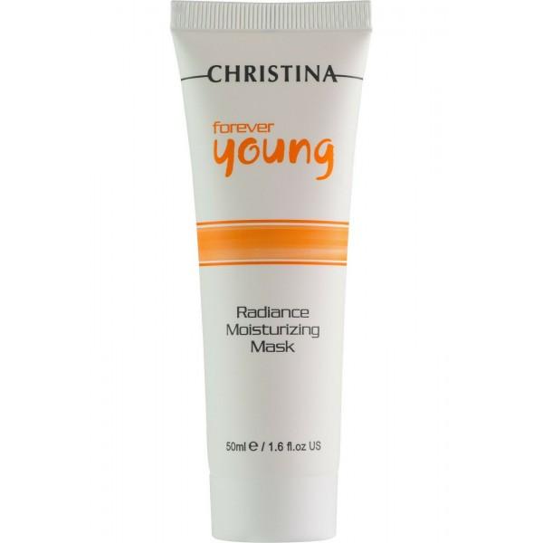 Forever Young Radiance Moisturizing Mask Drėkinanti kaukė, 50 ml