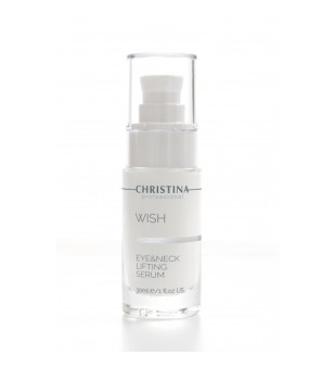 Christina Wish Eye & Neck Lifting Serum Serumas kaklui ir odai aplink akis, 30 ml | inbeauty.lt