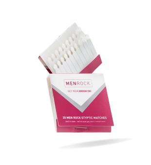 Menrock Styptic Matches Kraujavimą stabdantys degtukai, 20 vnt. | inbeauty.lt