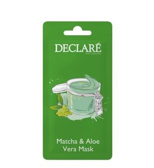 Declaré Matcha & Aloe Vera Mask Raminanti veido kaukė, 7ml | inbeauty.lt