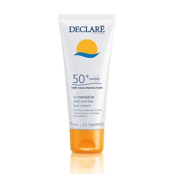 SunSensitive Anti-Wrinkle Sun Cream SPF50 Apsauginis veido kremas, 75ml